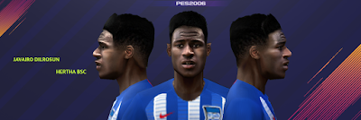 PES 6 Faces Javairô Dilrosun by Gabo CR Facemaker