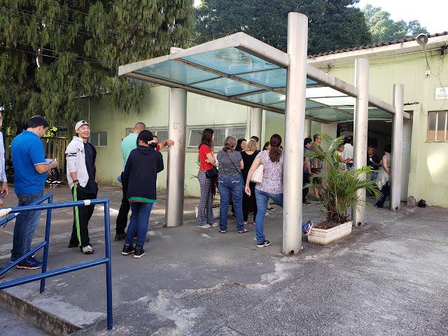 SUS( 統一保健医療システム)の病院で予防接種の受付