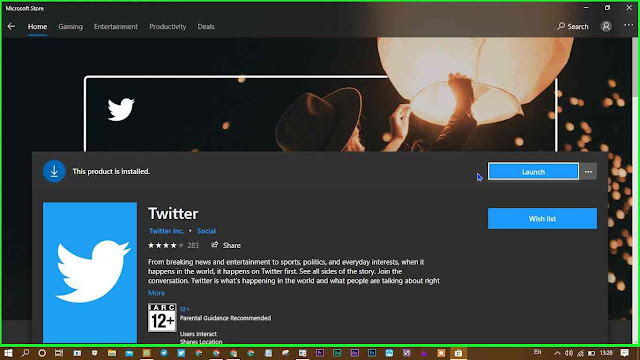 Windows 10 Me Twitter Kaise Install Kare?