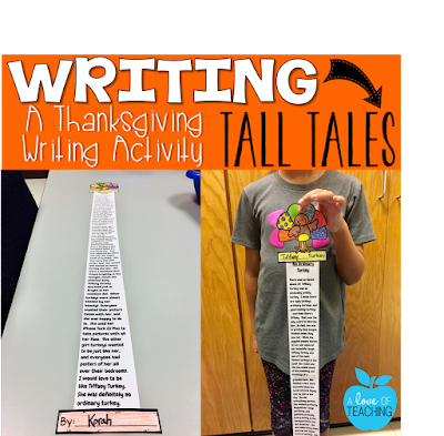 Writing Tall Tales: A Thanksgiving Mini-Unit