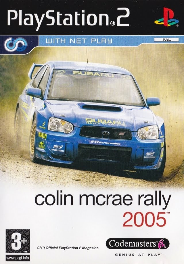 Colin McRae Rally 2005 PAL PS2