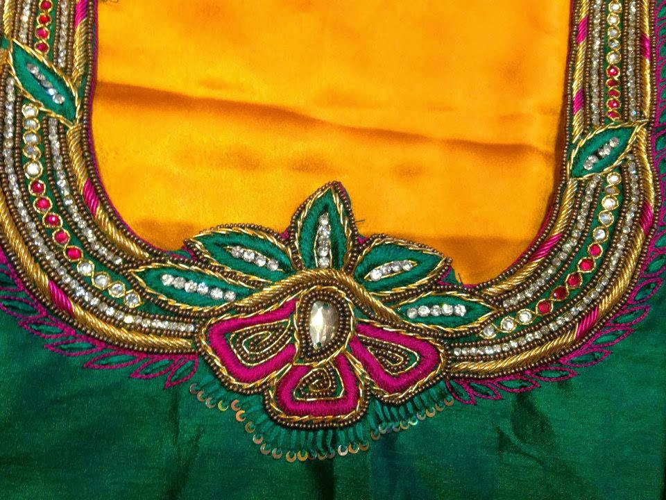 16 Best maggam work blouses images | Latest maggam work ...