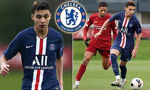Chelsea eyeing summer move for PSG starlet Kays Ruiz-Atil