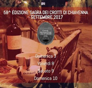 Sagra dei Crotti 3-8-9-10 settembre Chiavenna (SO)