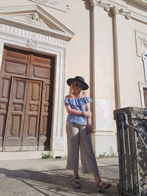 fashion, ootd, stripes, italy
