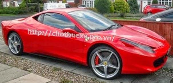 Cho thuê siêu xe Ferrari 360 Italia 1
