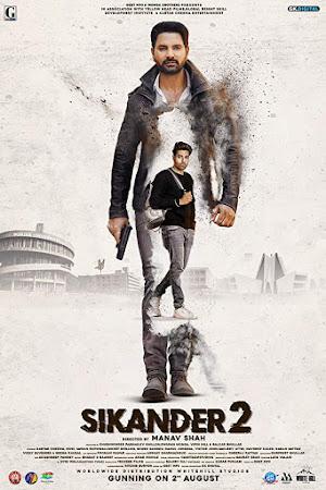 Poster Of Pollywood Movie Sikander 2 2019 300MB PdvdRip 480P Full Punjabi Movie