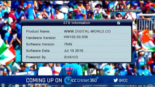 NEOSAT HD RECEIVER ALI3510C HW102.02.036 NEW SOFTWARE TEN SPORT OK AND CLINE WORKING FINE