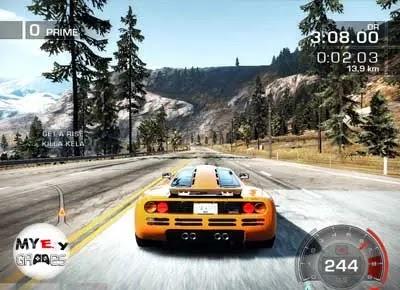 من داخل تحميل لعبة Need for Speed Hot Pursuit 2 كاملة للكمبيوتر برابط مباشر