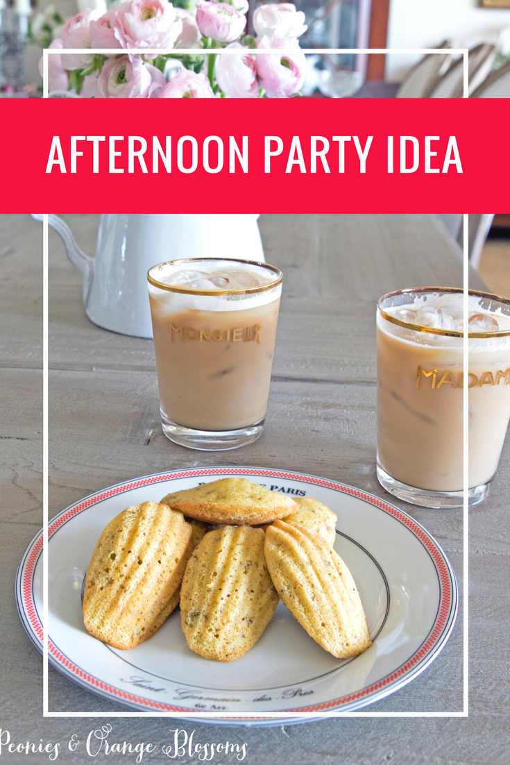 A simple afternoon party idea