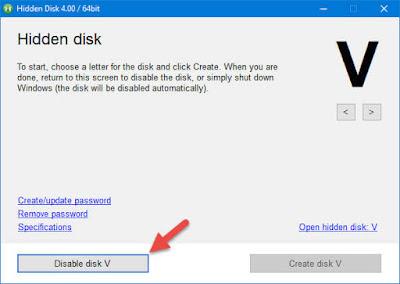 Kunci Partisi Drive Windows 10 dengan Kata Sandi ( Password )