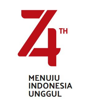 Original Tema dan Logo HUT ke 74 RI Tahun 2019, https://bloggoeroe.blogspot.com/