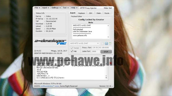 Update Config HTTP Proxy Injector (HPI) Tri Opok Unlimited