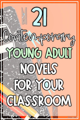 add these 21 young adult novels to your classroom library this back to school season