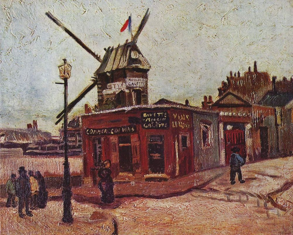 Windmills of Paris