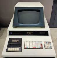 Commodore PET 2001 (Dec 1977) with OEM drive