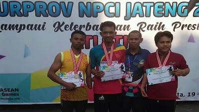 Syaiful Asnawi Atlit Paralimpik Asal Bruno
