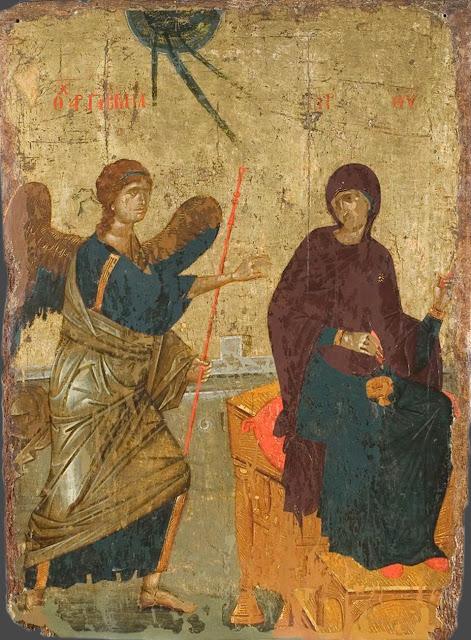 O anúncio do Arcanjo Gabriel a Nossa Senhora