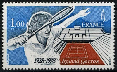 France 1978 Roland Garros Tennis Stadium