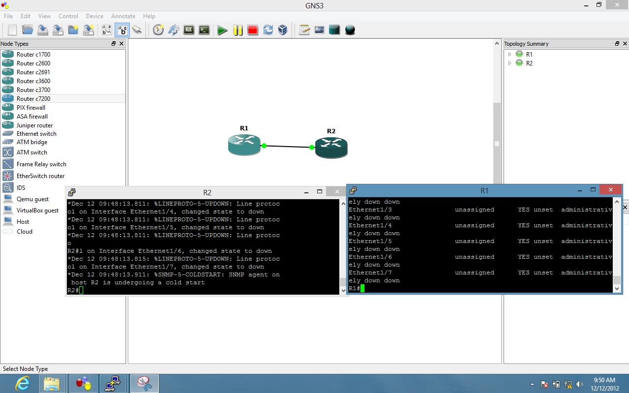 GNS3 Labs | CCNP | CCNA Labs: Gns3 Installation and Configuration on