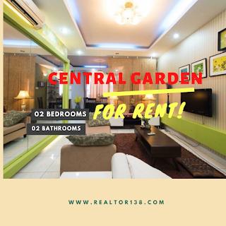 cho thuê căn hộ 2 phòng ngủ central garden quận 1