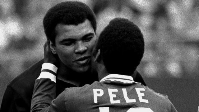 A diferença entre Pelé e Muhammad Ali