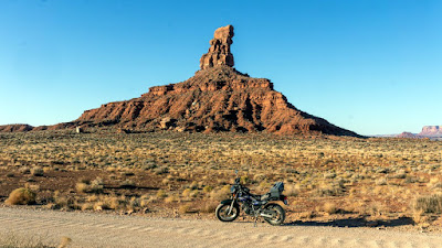 Cataloging possible campsites along the Valley of the Gods Road