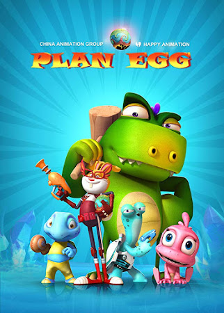 Poster Of Plan Egg In Dual Audio Hindi English 300MB Compressed Small Size Pc Movie Free Download Only At worldfree4u.com