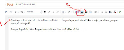 Klik icon gambar di samping Link