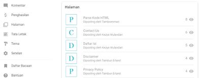 Cara Menerapkan Tampilan Baru Dashboard Blogger