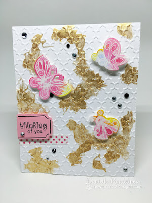 Beautiful Wings | Newtons Nook Designs | Card Created by Danielle Pandeline