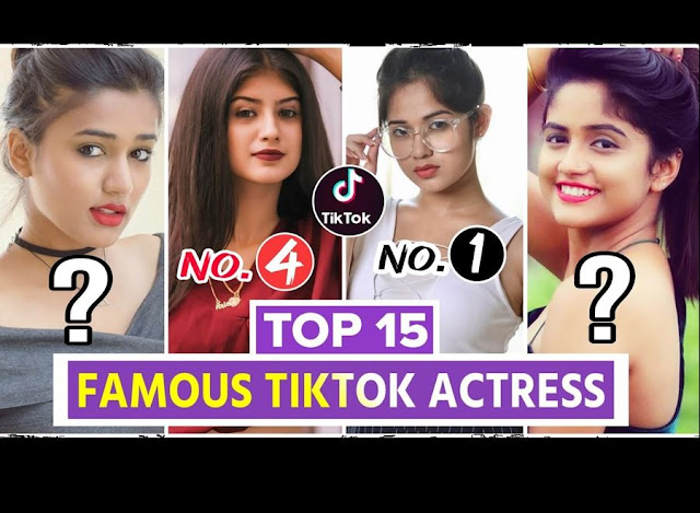 List Of Indian Famous Female TikTokers
