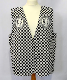LOW COST SKA WAISTCOAT FOR ADULTS