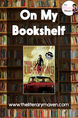 Trail of Lightning by Rebecca Roanhorse was like nothing I've ever read before. It's a fantastic mix of Native American mythology, science fiction, and fantasy with a post-apocalyptic setting and elements of the mystery and thriller genre. The protagonist, Maggie, is a fierce female with a male sidekick, Kai, who needs rescuing just as much as she does. Read on for more of my review and ideas for classroom application.