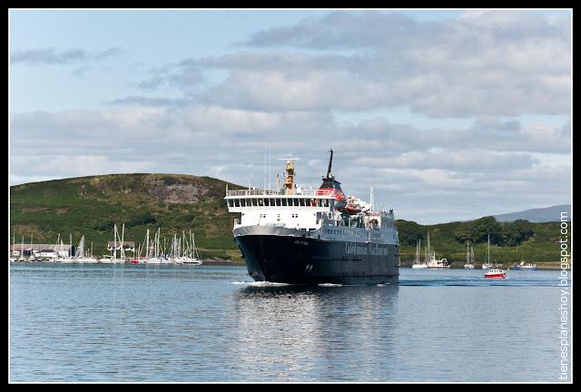 Ferry Isla de Mull
