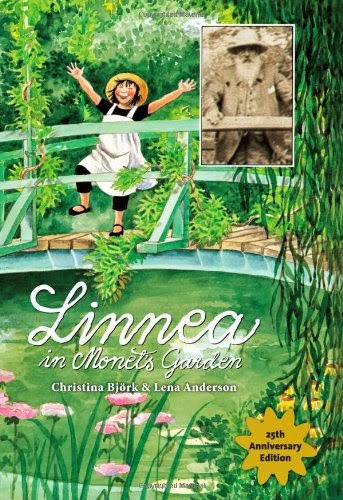 Linnea in Monet's Garden, part of children's book review list about France
