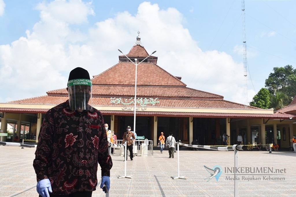 Mulai Hari ini, Masjid Agung Kauman Kebumen Kembali Gelar Salat Jumat