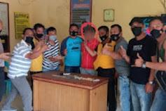 MS Warga Bogor Ditangkap Satreskoba Polres Samosir