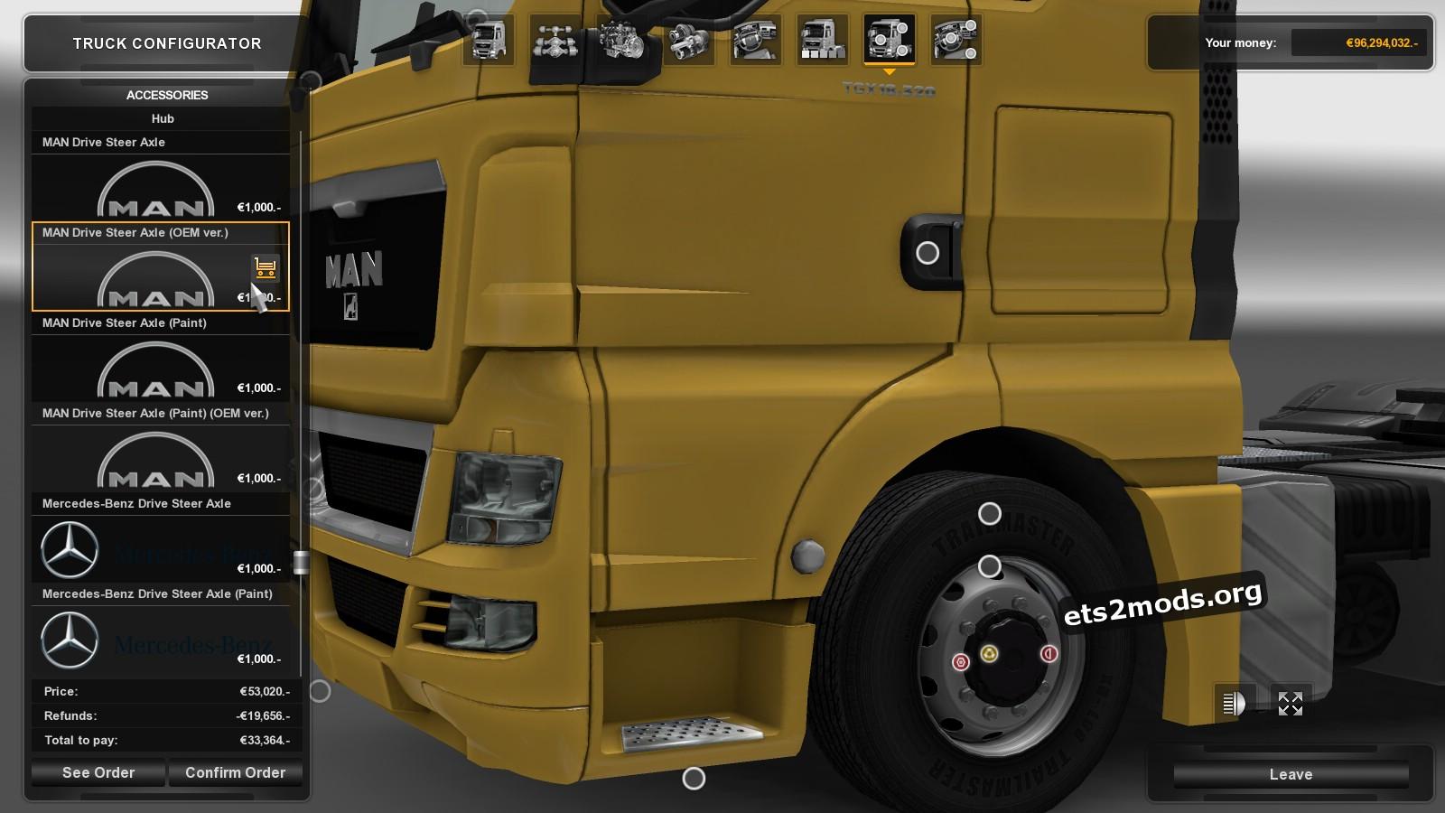 Hub Reduction Axle Cap V 2.1