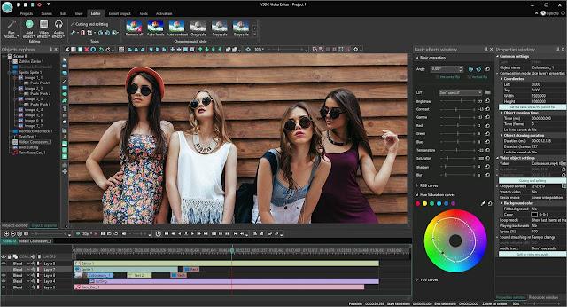 Screenshot VSDC Video Editor Pro 6.3.9.50 Full Version