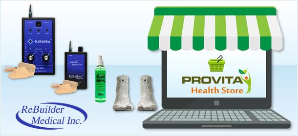 donde comprar productos rebuilder medical