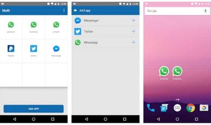 Aplikasi tuk Jalankan Dua Akun WhatsApp - Multi
