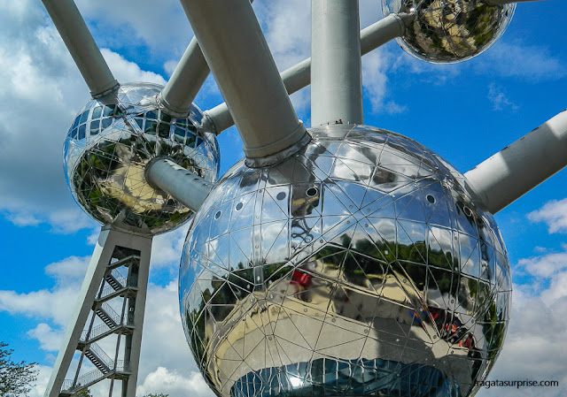 Atomium, em Bruxelas