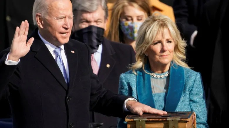Joe Biden se juramenta como presidente EE.UU