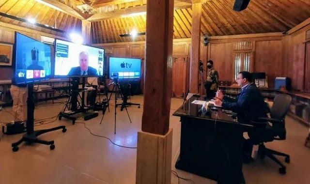 Anies Bertukar Info Penanganan COVID-19 dengan 44 Pemimpin Kota dari 31 Negara