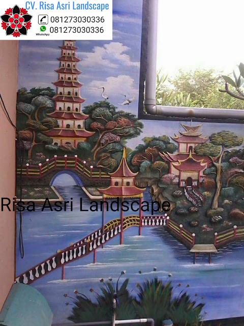 √Tukang dekorasi kolam tebing Surabaya