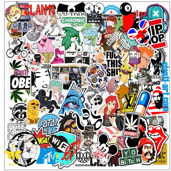stickerbombing clan11 june 2014 pack