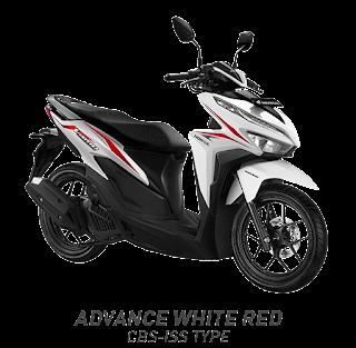 Vario 125 ESP CBS ISS - Sonic White Red - Honda Sejahtera Mulia Cirebon