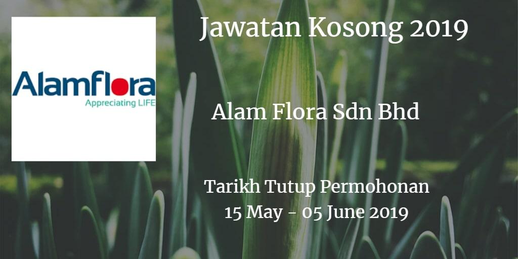 Jawatan Kosong Alam Flora Sdn Bhd 15 May - 05 June 2019