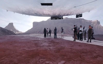 VR TECHNOLOGY HELPS BRING A GALAXY FAR, FAR AWAY TO OUR TV